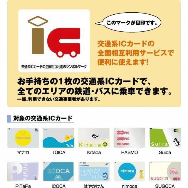 交通系ICカードの全国相互利用   マナカとは   マナカ   名古屋市交通局