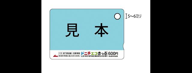 値段 ドニチエコ きっぷ